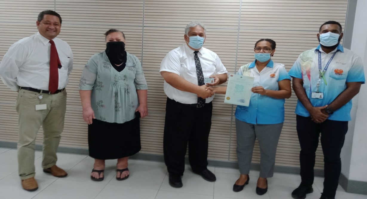 Massive Issuance of National Identity Documents (NID) to the church of Latter-Day Saints – Port Moresby
